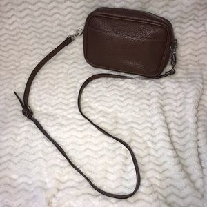 Dooney & Bourke small brown crossbody bag